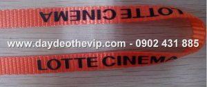Dây đeo thẻ hội nghị hội chợ hội thảo event ,dây đeo thẻ nhân viên cao cấp nhiều size 1cm , 1.5cm, 2cm in 1 màu , nhiều màu , in nổi , in chìm , thiết kế theo yêu cầu .
