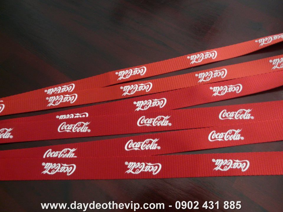 day deo the coca cola, day deo cao cap coca cola, day deo the vip, day deo the event, day deo quang cao, day deo danh cho pro